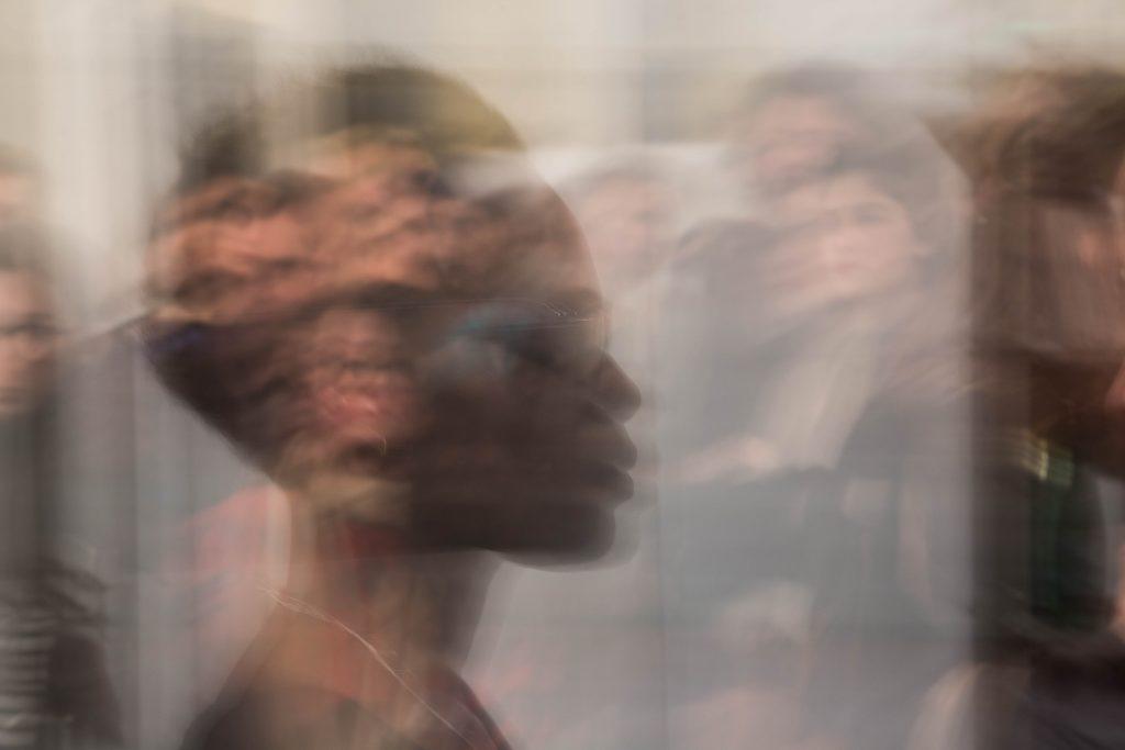 Lecture de La Souterraine par Coumba-Joanna Wone © Franck Aissa